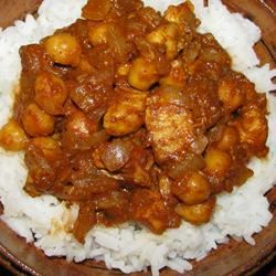 Chickpea and Chicken Curry rebeqah