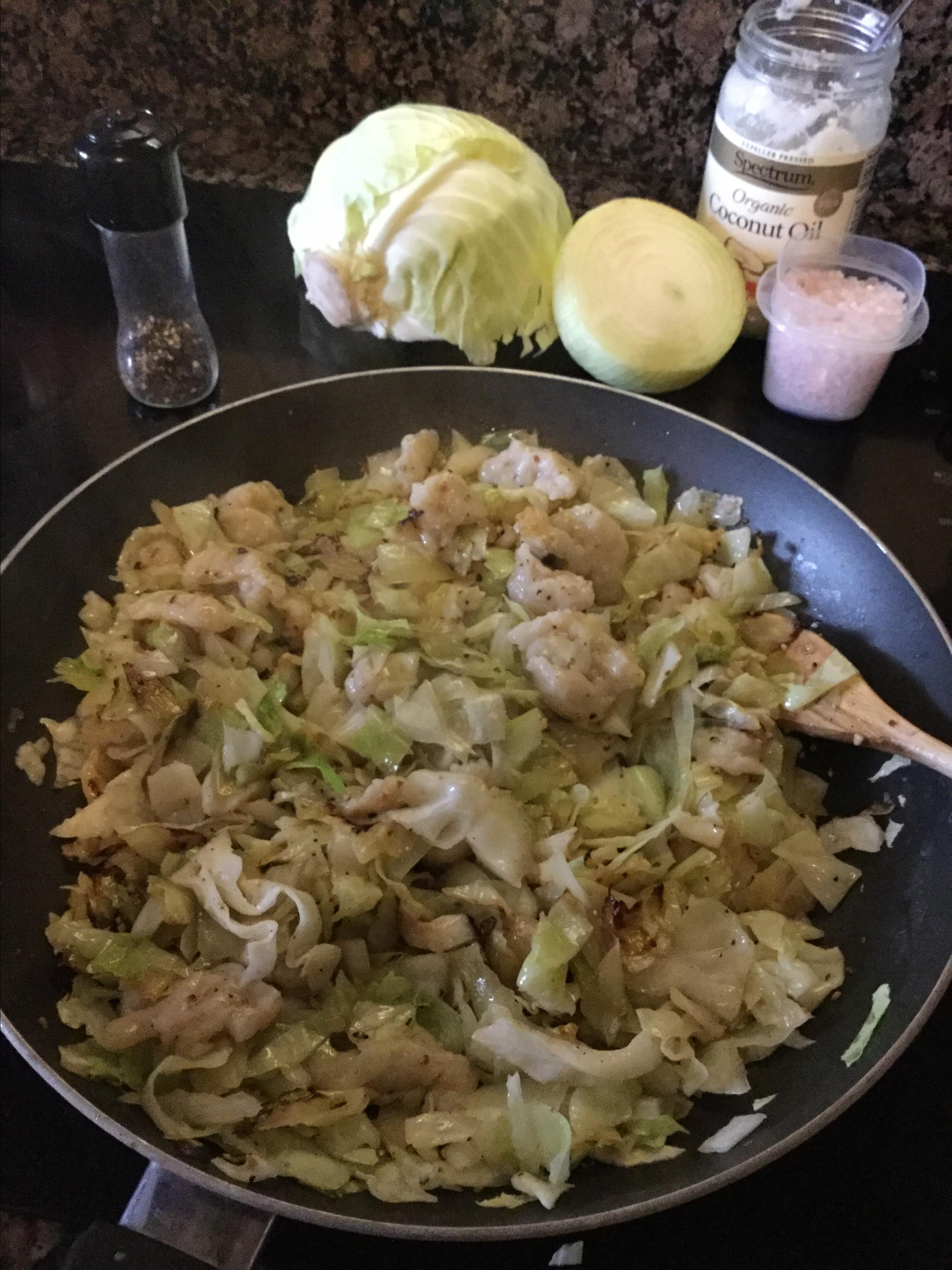 Cabbage and Dumplings