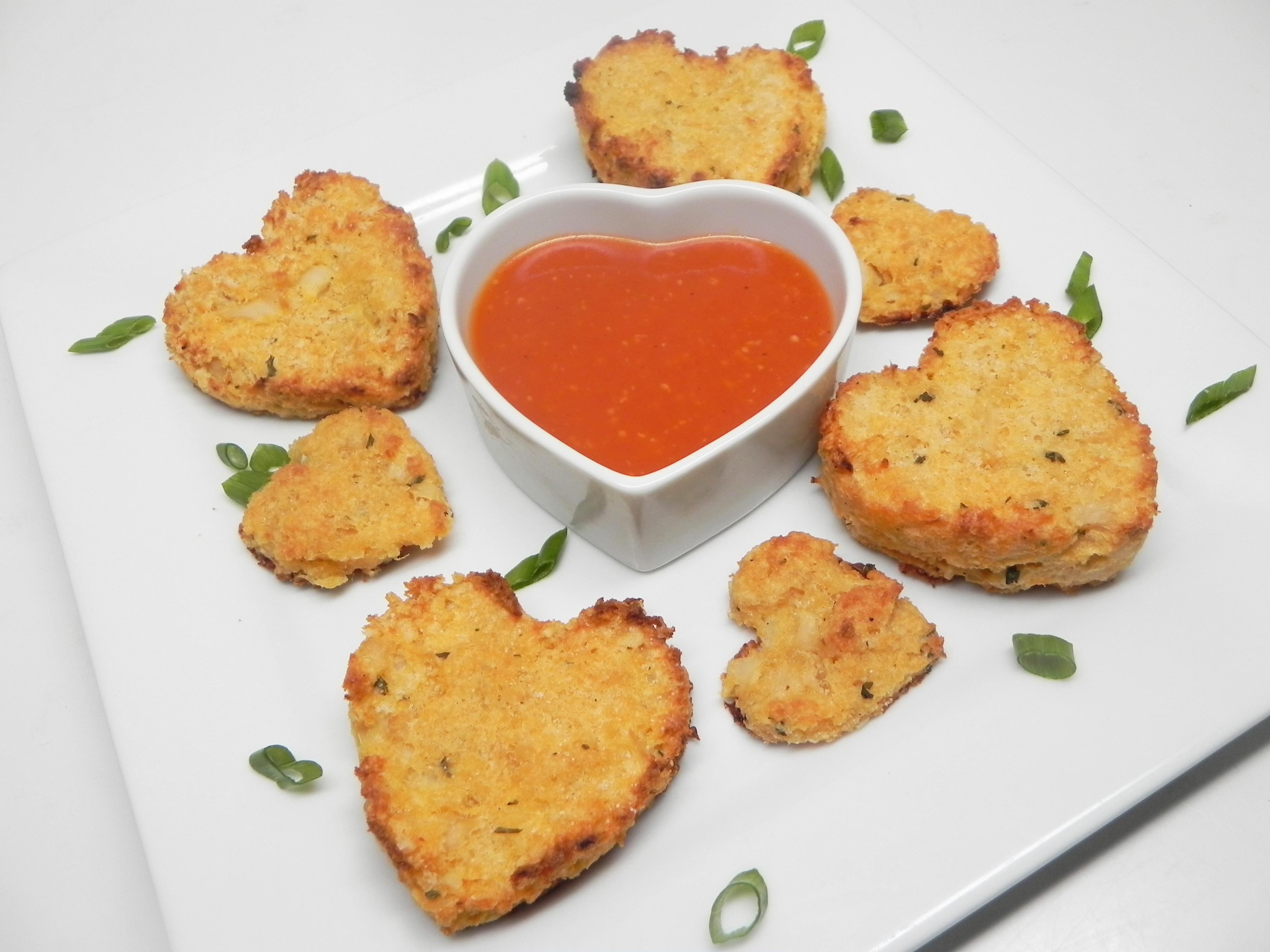 Crispy, Spicy Cauliflower Pancakes