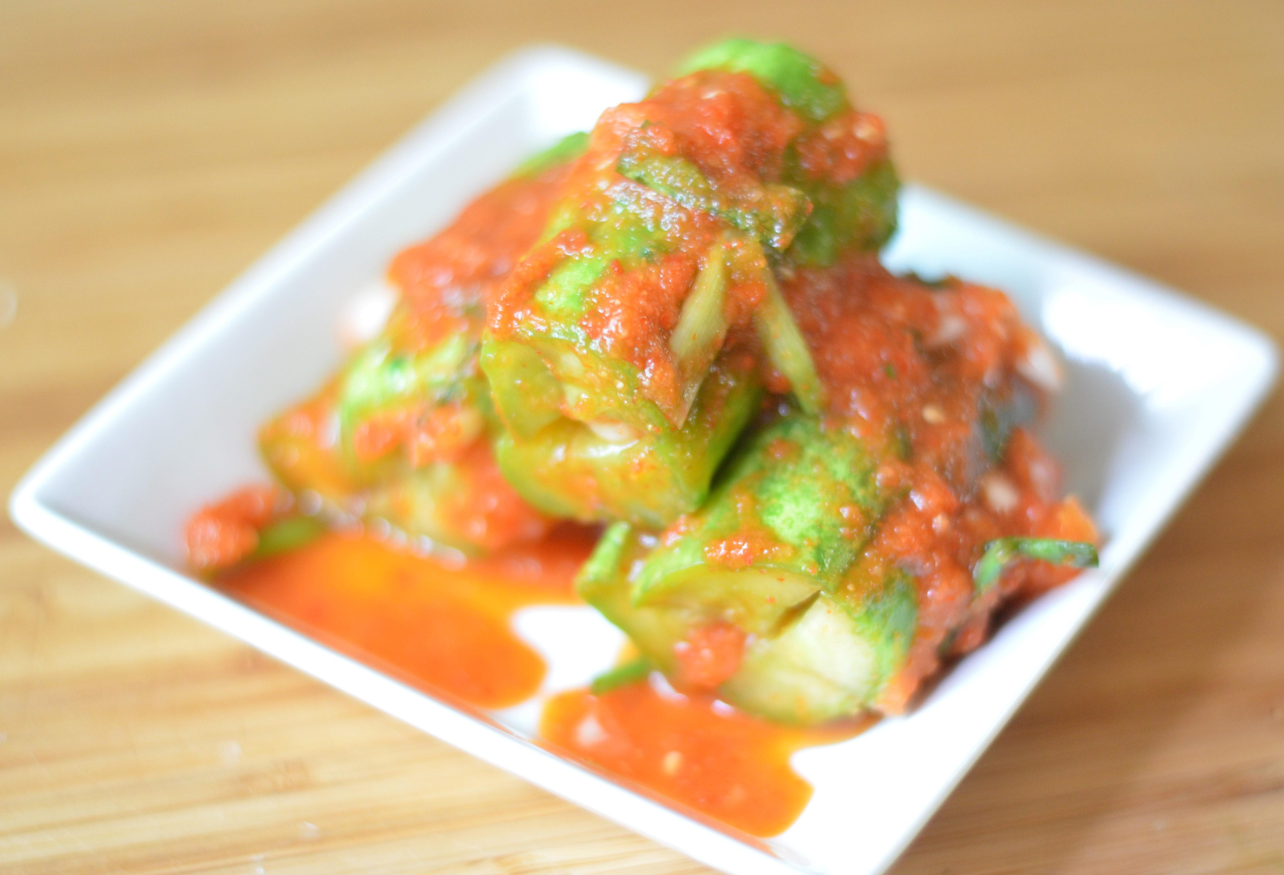 Oi Sobagi (Korean Cucumber Kimchi)