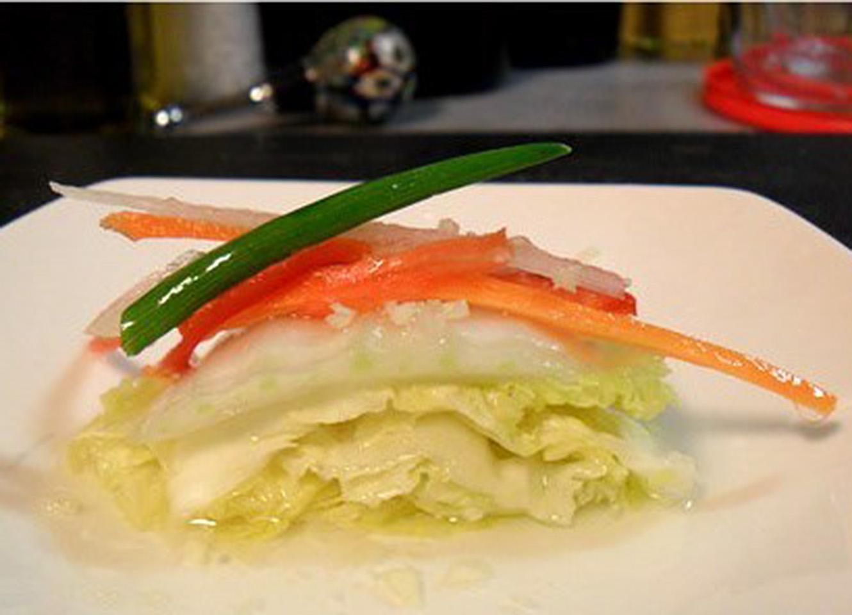 Baek Kimchi (Korean White Non-Spicy Kimchi)