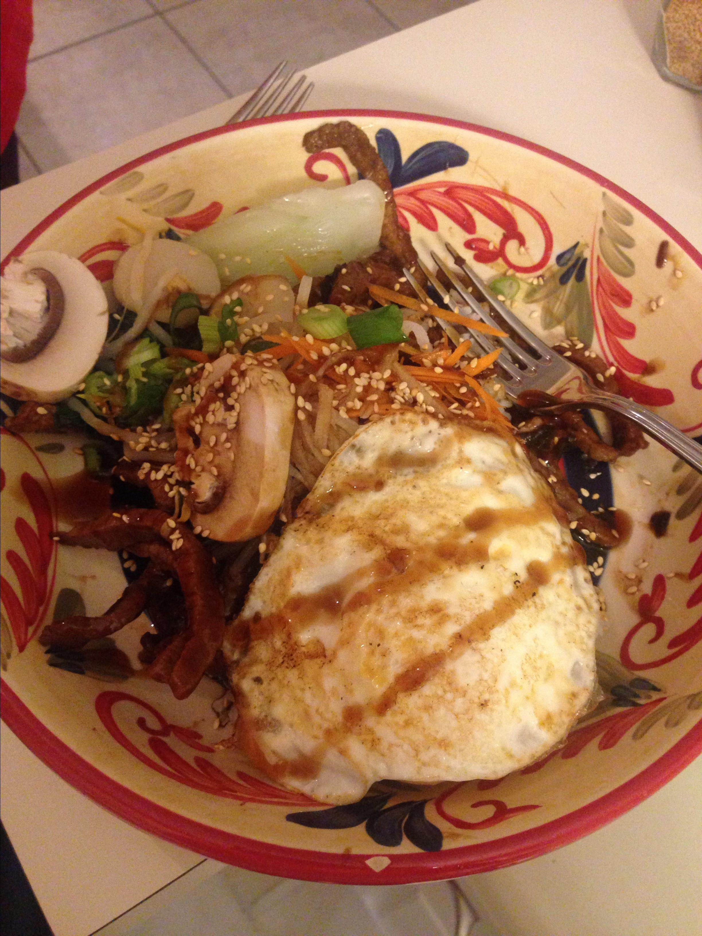 Bibimbap with Beef