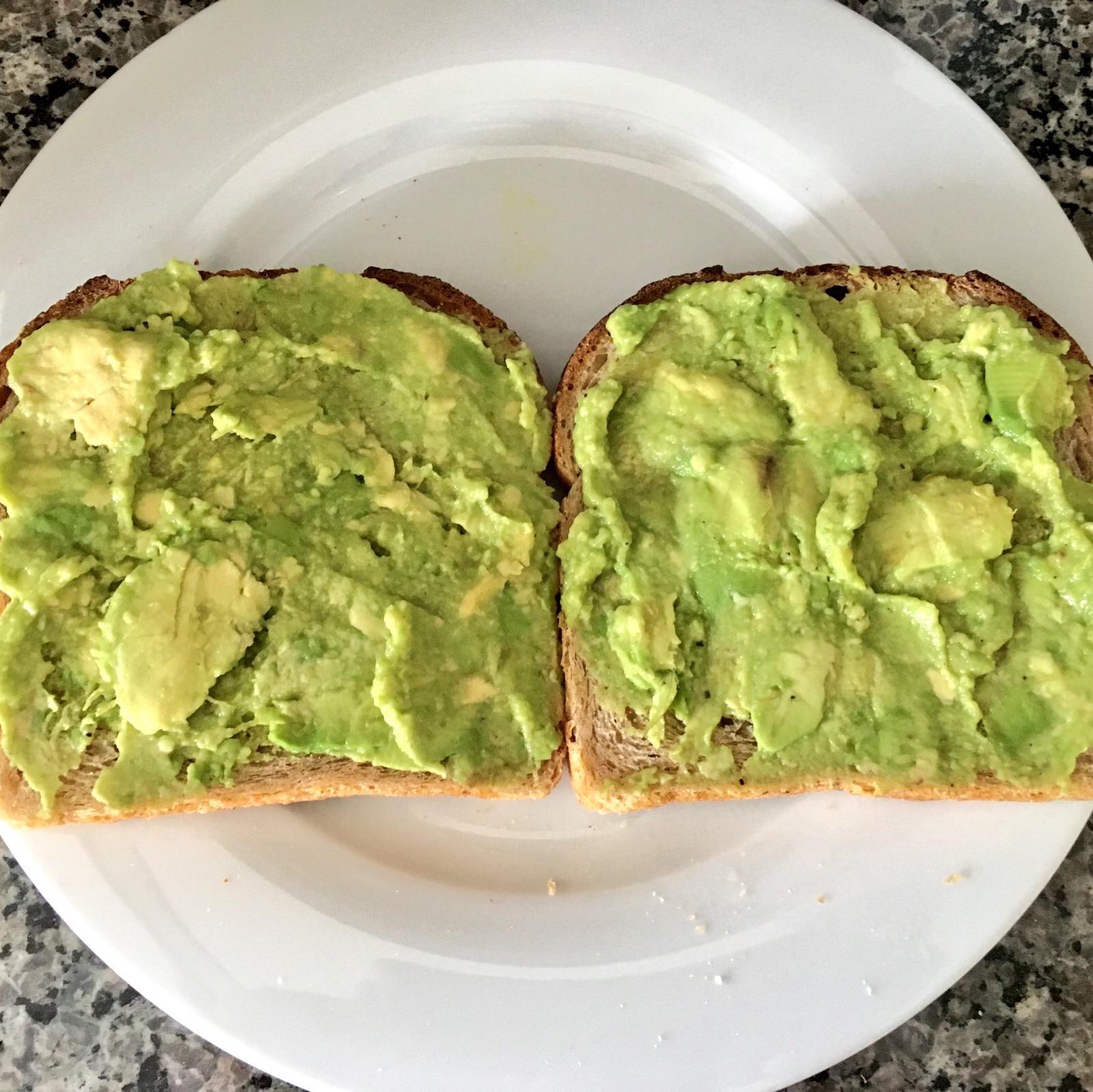 Avocado Toast (Vegan) Megan Riley