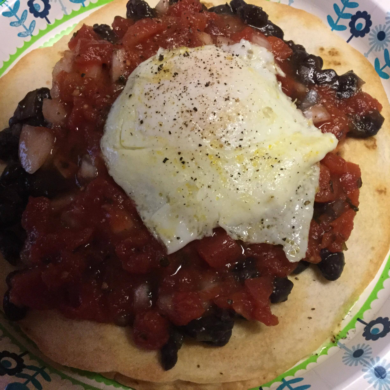 Black Bean Huevos Rancheros