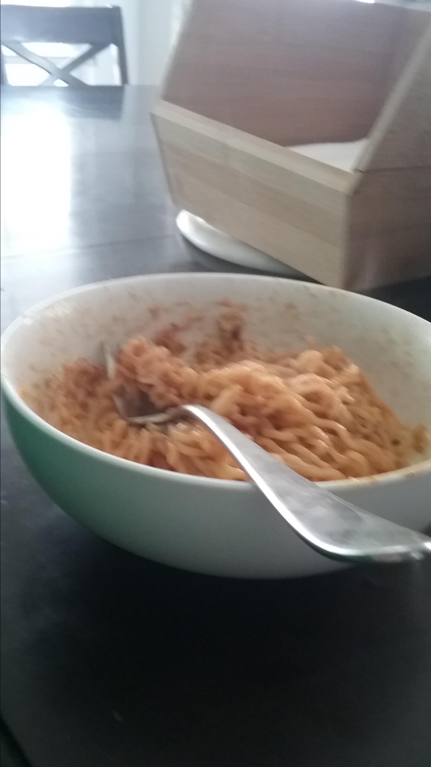 Cheesy Ramen Noodles