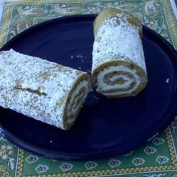 Pumpkin Roll Cake