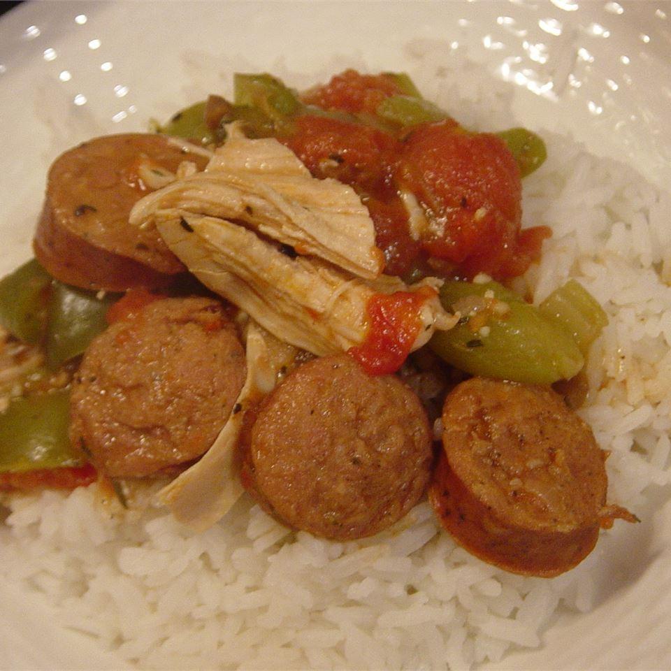 Chicken Andouille Gumbo laur laur