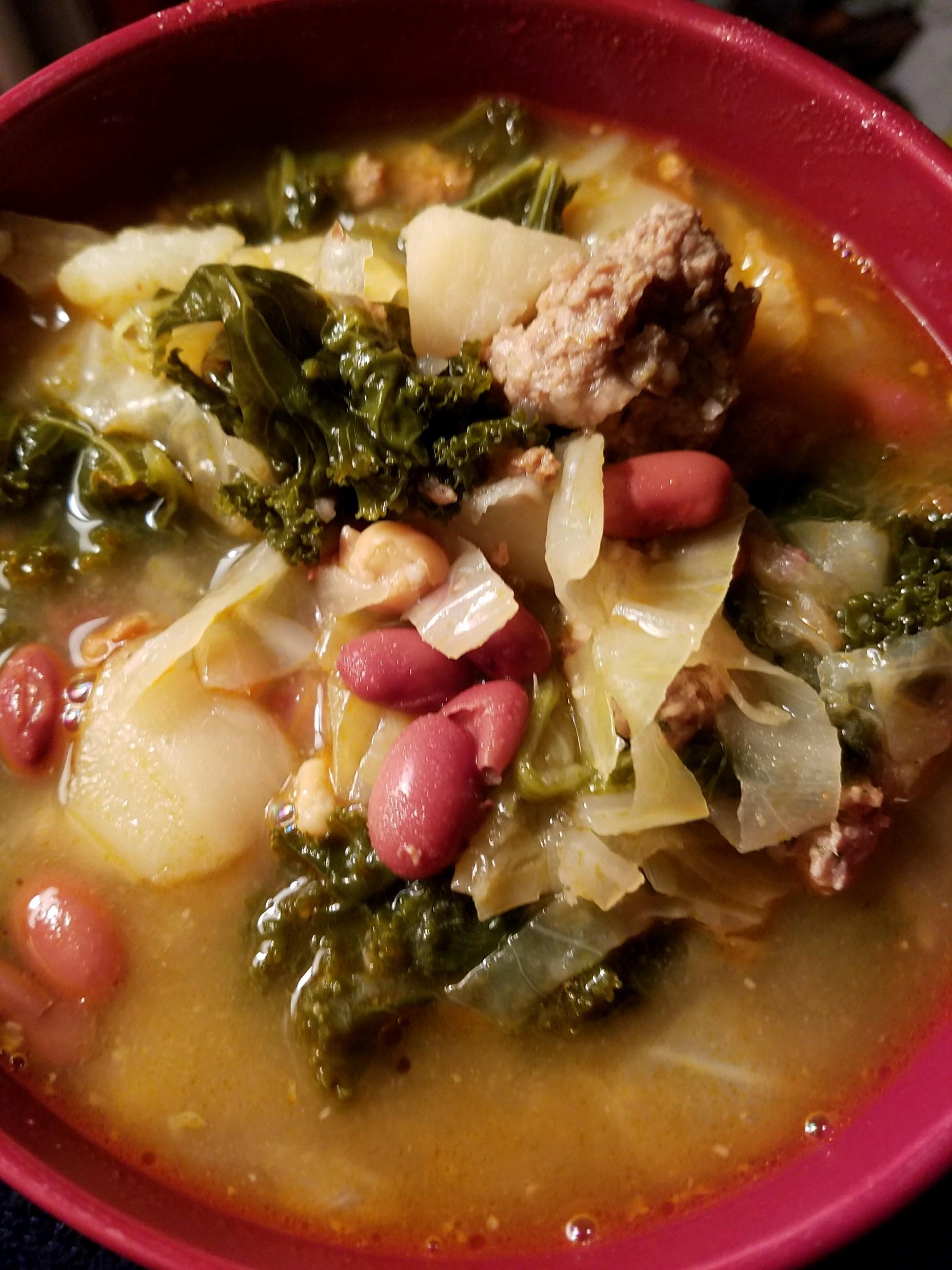 Kale Soup Lisa Avellino