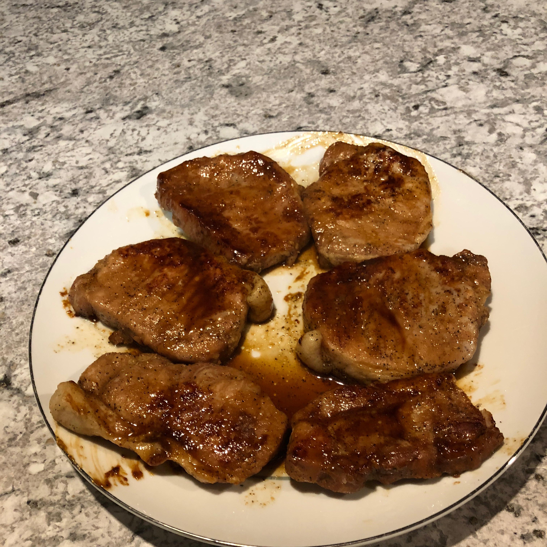 Teriyaki Pork Chops Duke Behringer