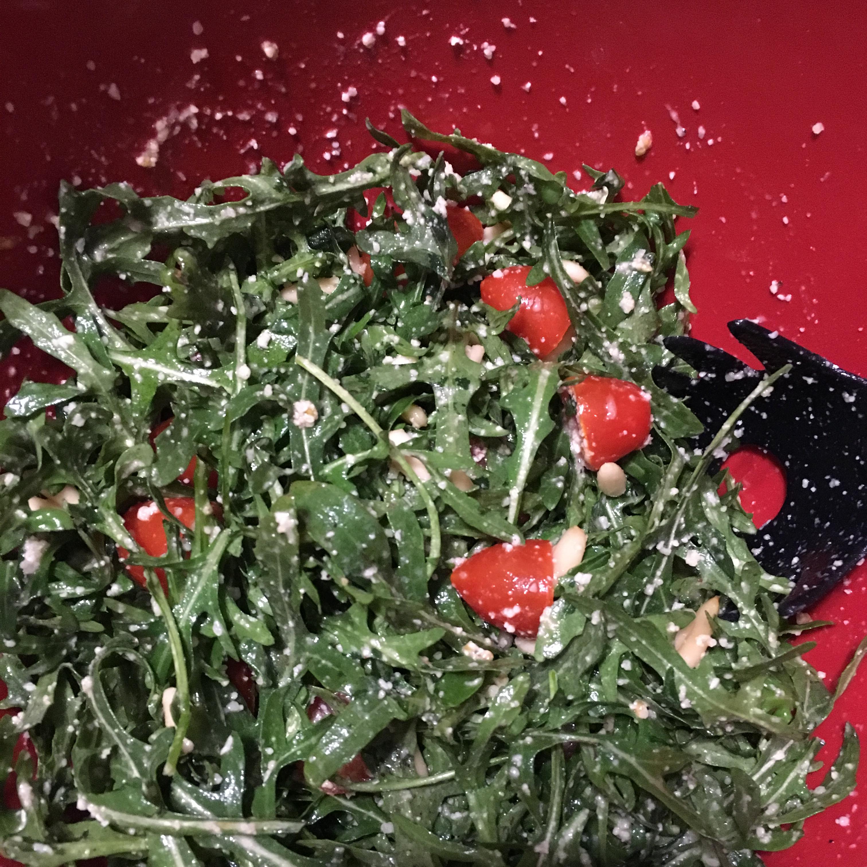 Easy Arugula Salad