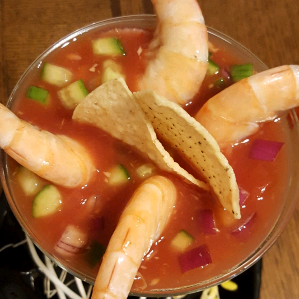 Cool Mexican Shrimp Cocktail Antonio