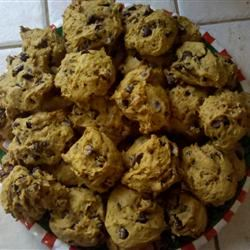Chocolate Chip Pumpkin Cookies StephanieKF