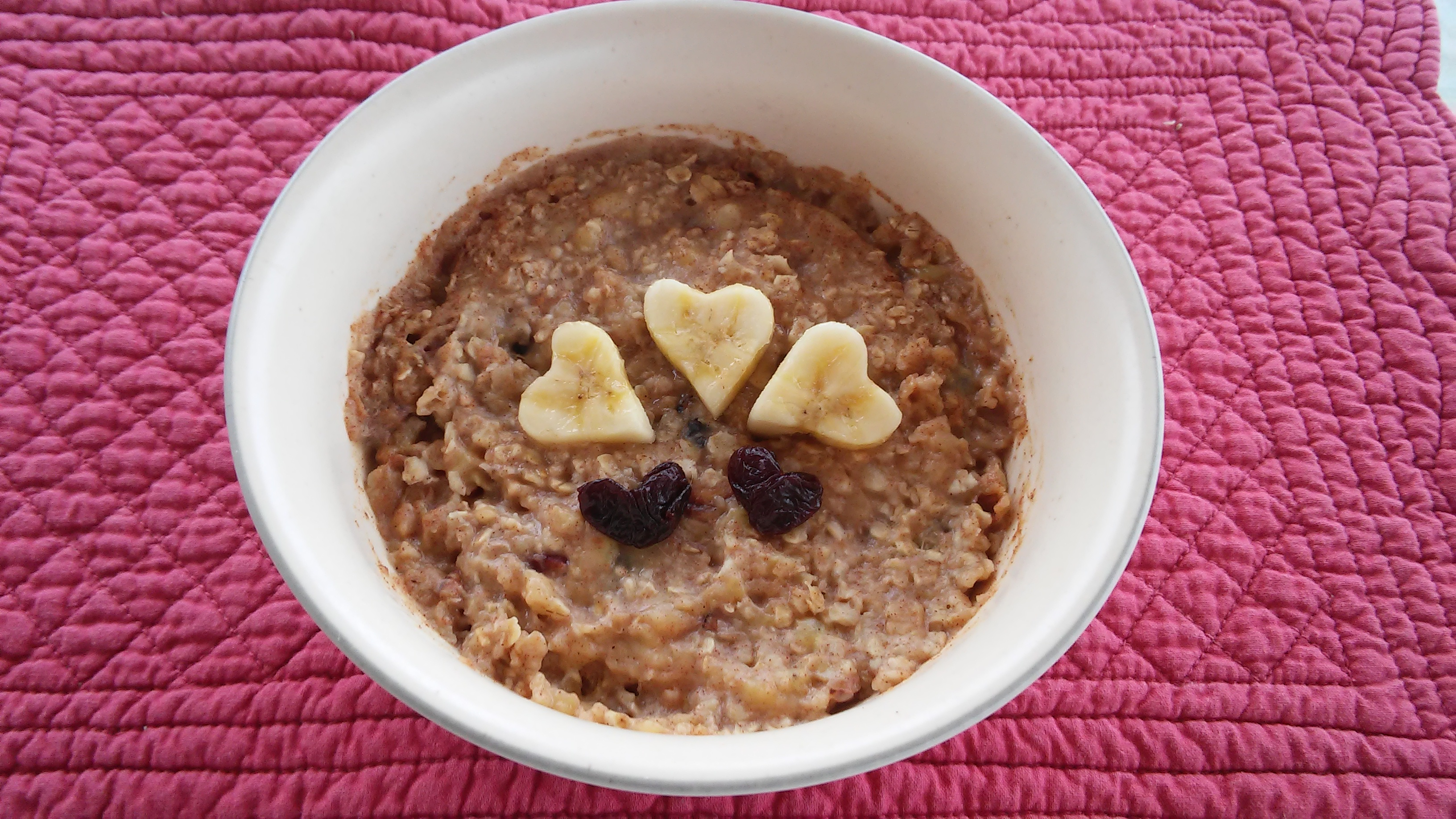 Banana Oatmeal for One