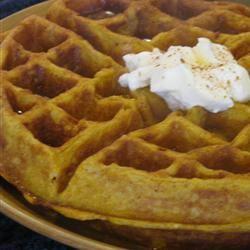 Cinnamon Pumpkin Waffles mglover