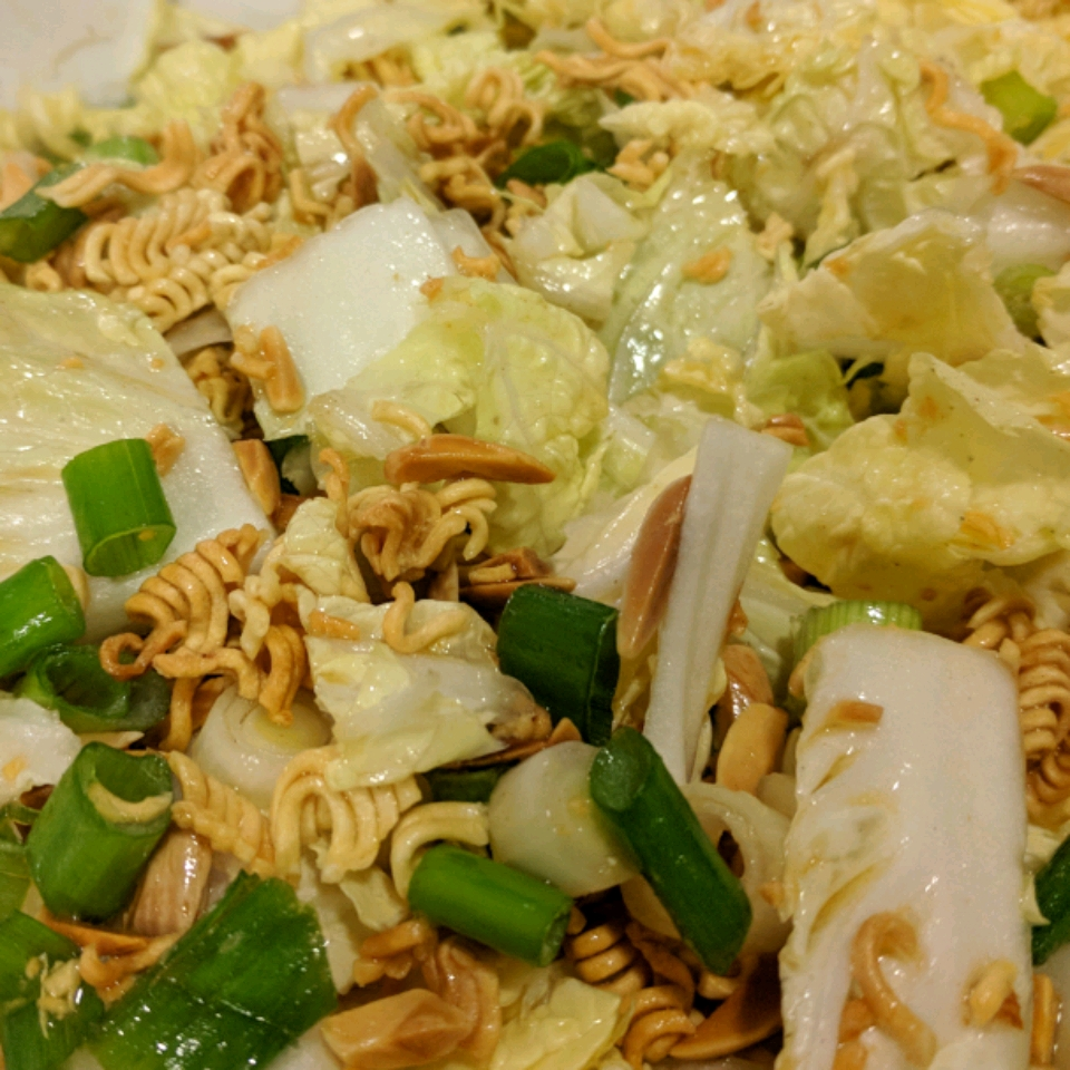 Million Dollar  Chinese Cabbage Salad Mary Zink