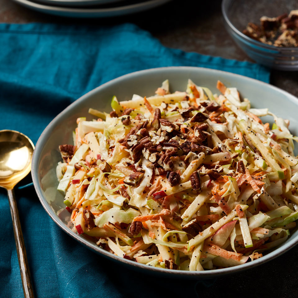 Apple Slaw with Poppy Seed Dressing Carolyn Casner