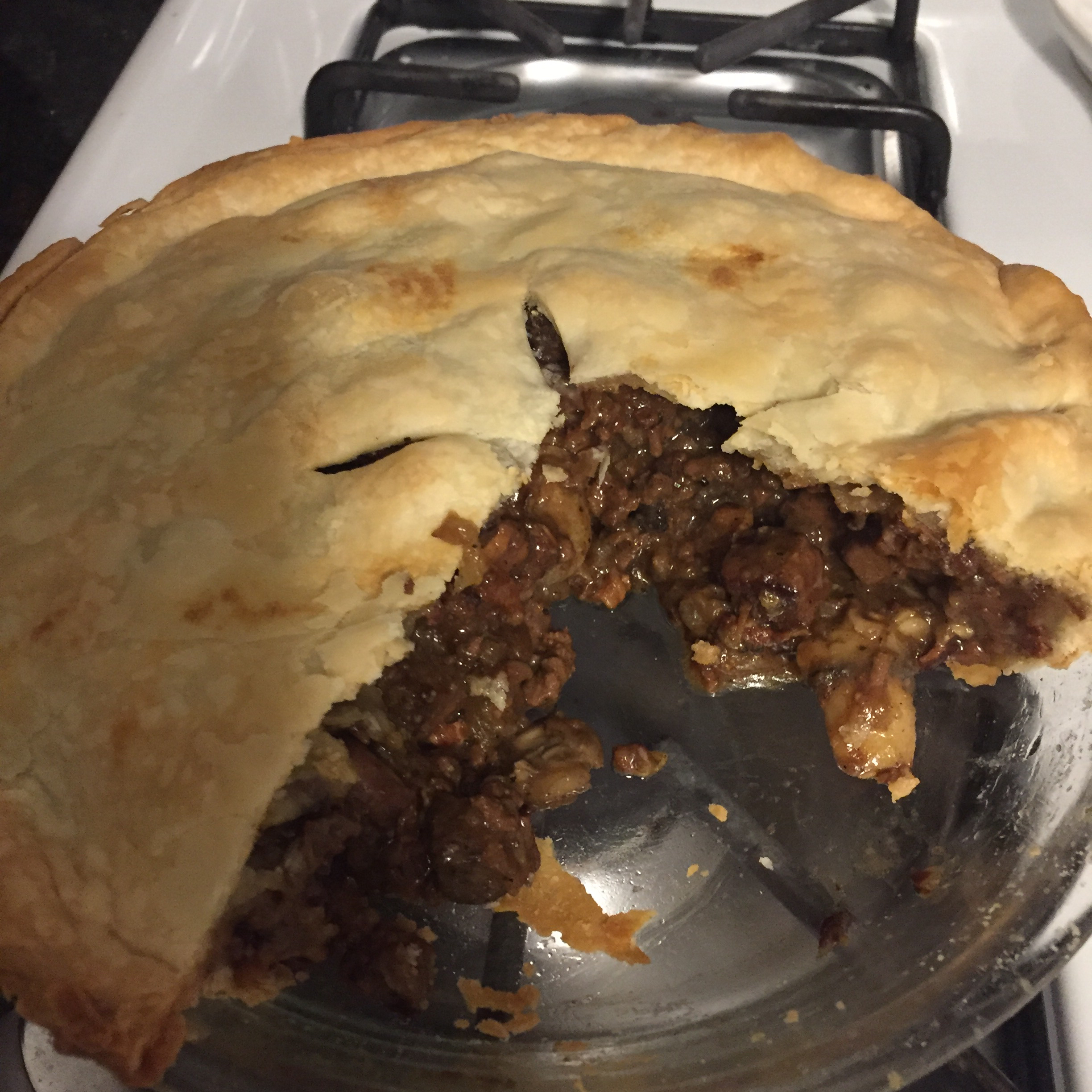 Steak and Irish Stout Pie James Fleming