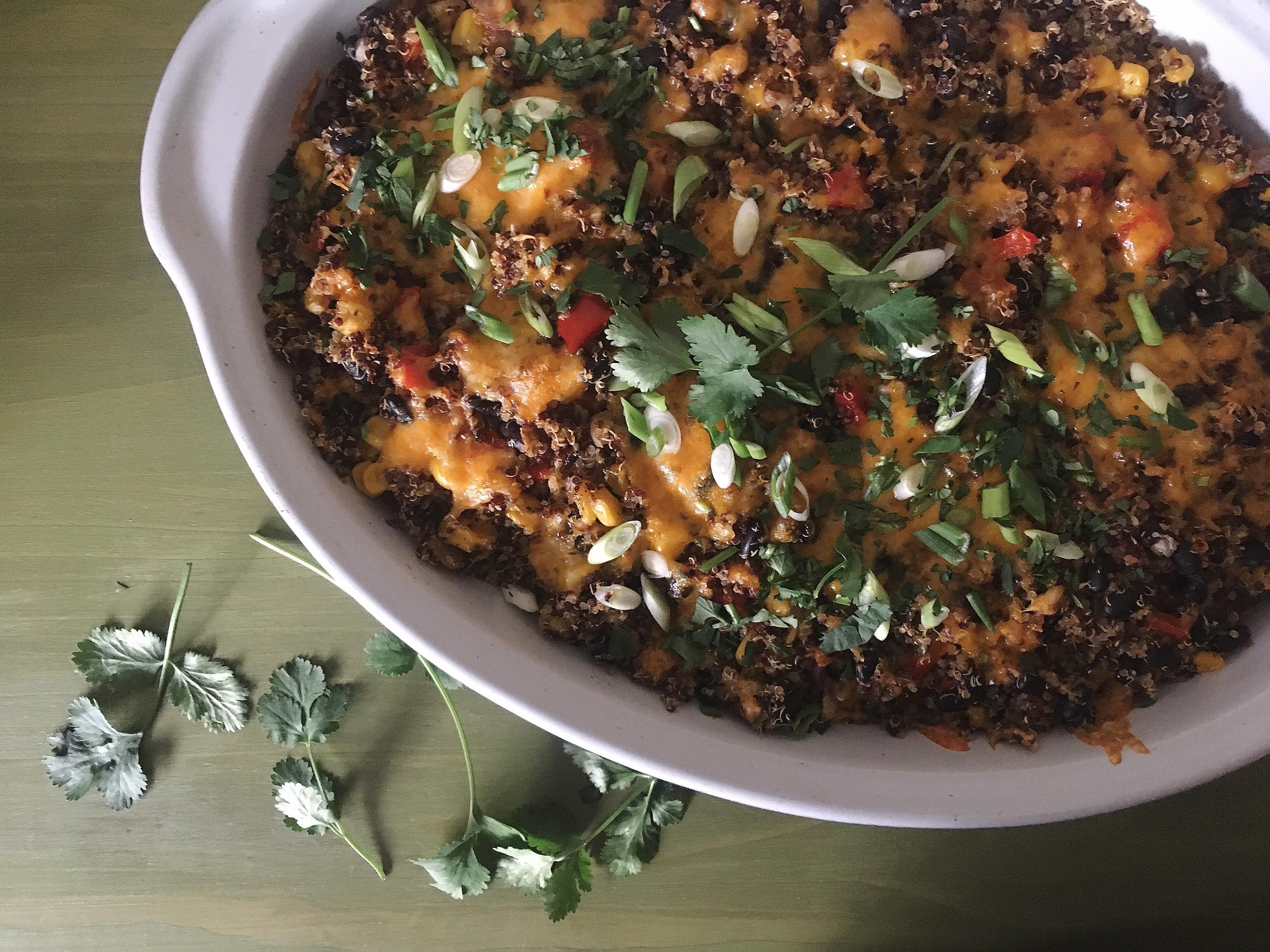 Veggie Quinoa Bake