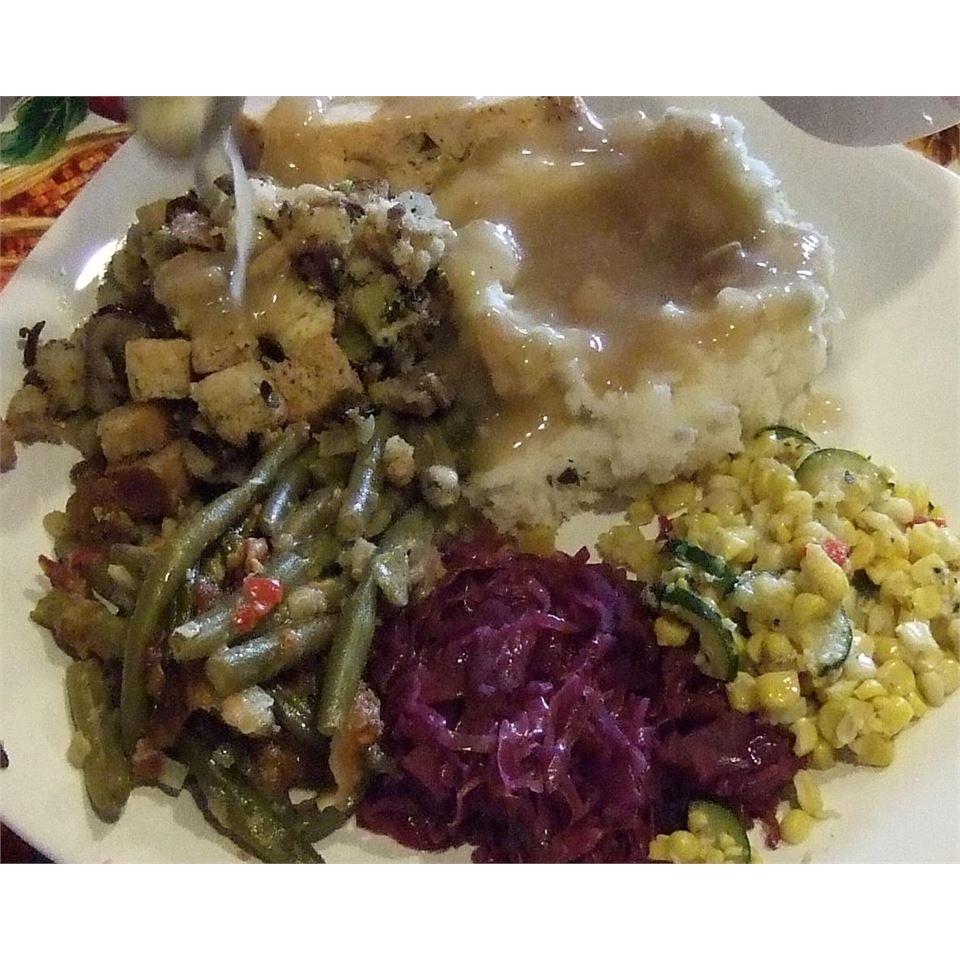 Leslie's Broccoli, Wild Rice, and Mushroom Stuffing MORUPE