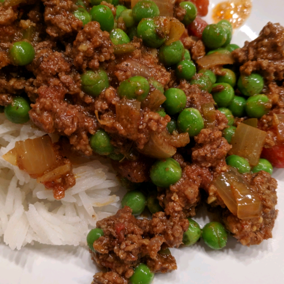 Kheema Matar (Beef and Pea Curry) Mary Zink