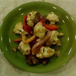 Italian-Style Oven-Roasted Cauliflower