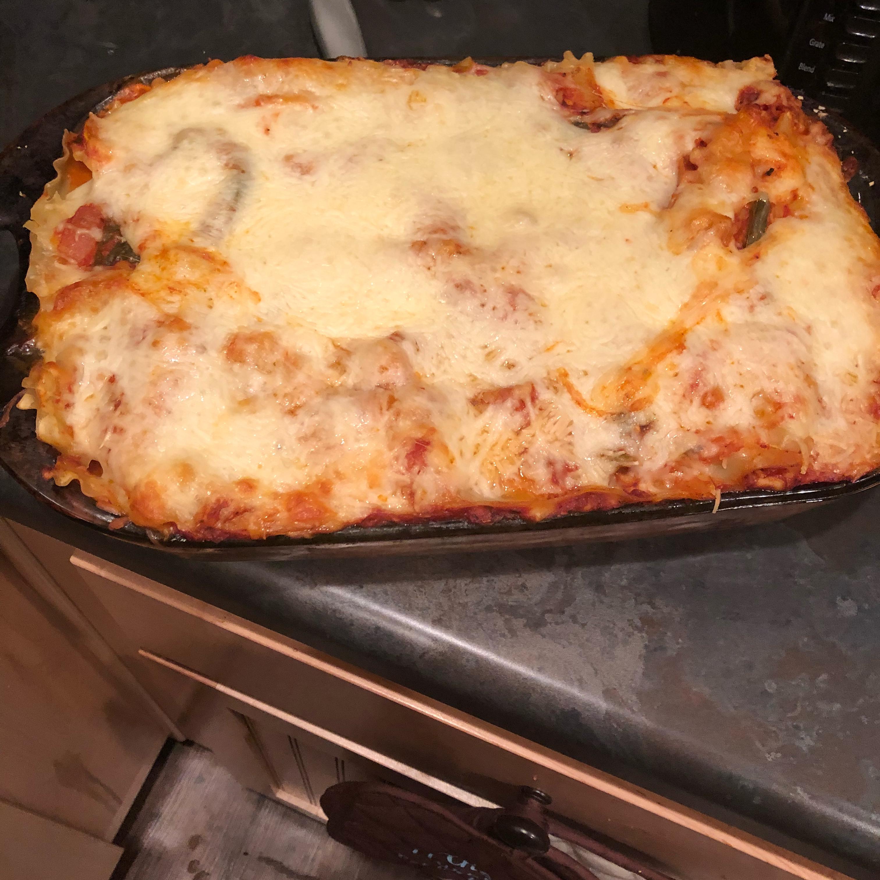 Veggie Lasagna Florentine Latoyatoya