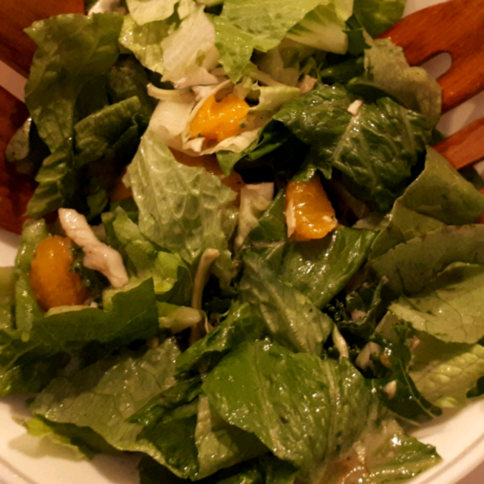 Orange Romaine Salad Terry Heffernan