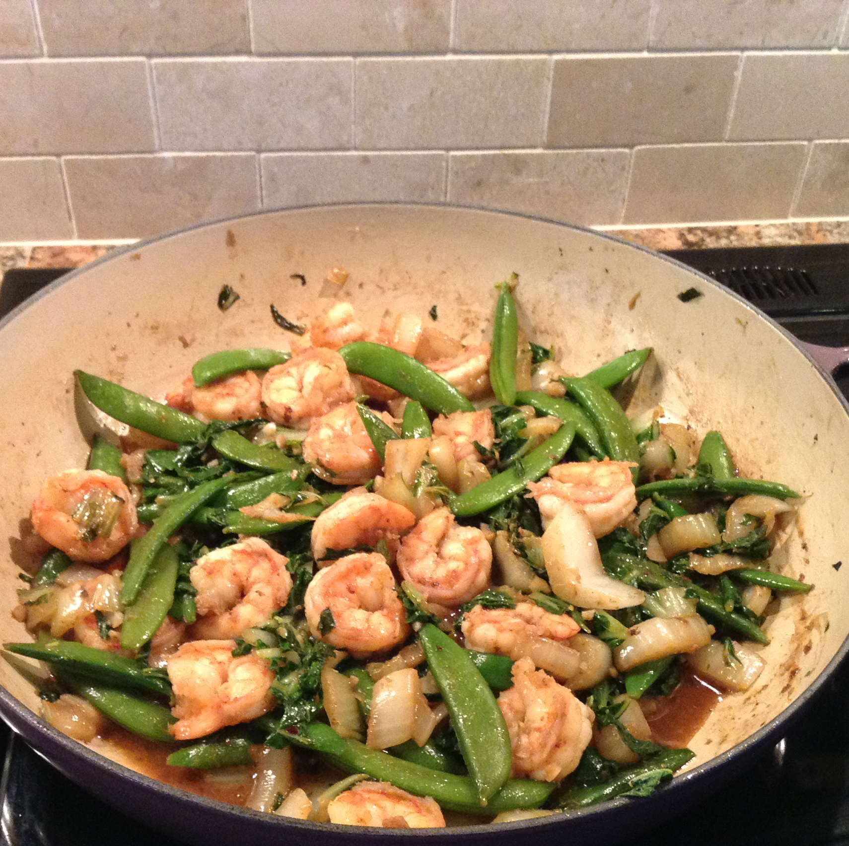 Spicy Bok Choy in Garlic Sauce