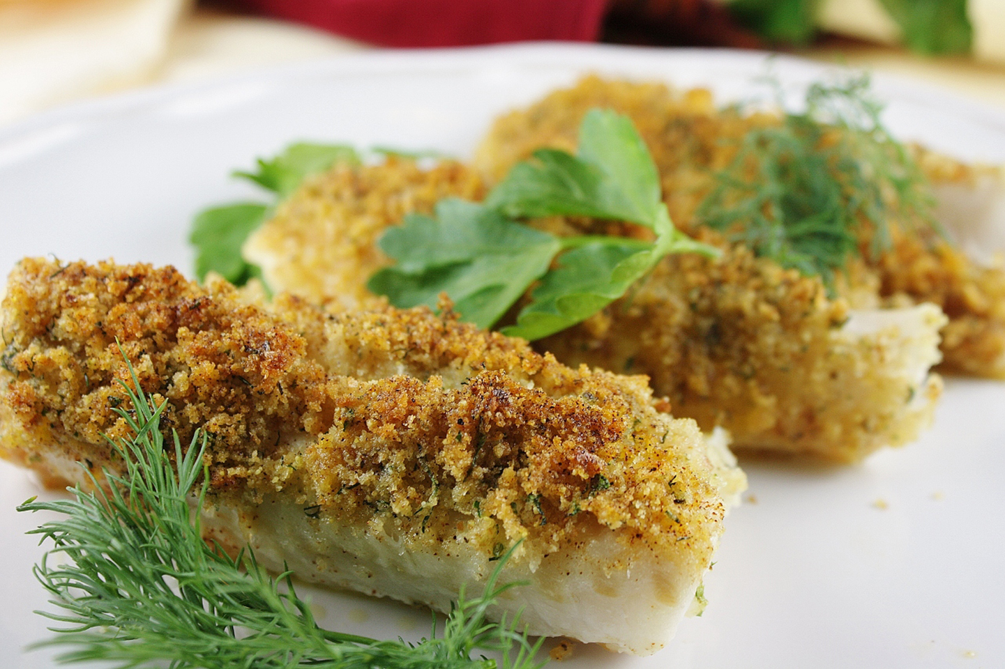 Cod with Italian Crumb Topping