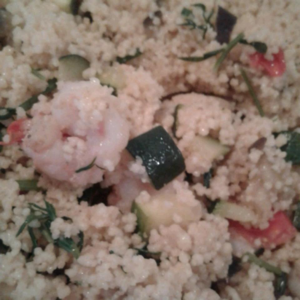 Shrimp and Vegetable Couscous Doreen