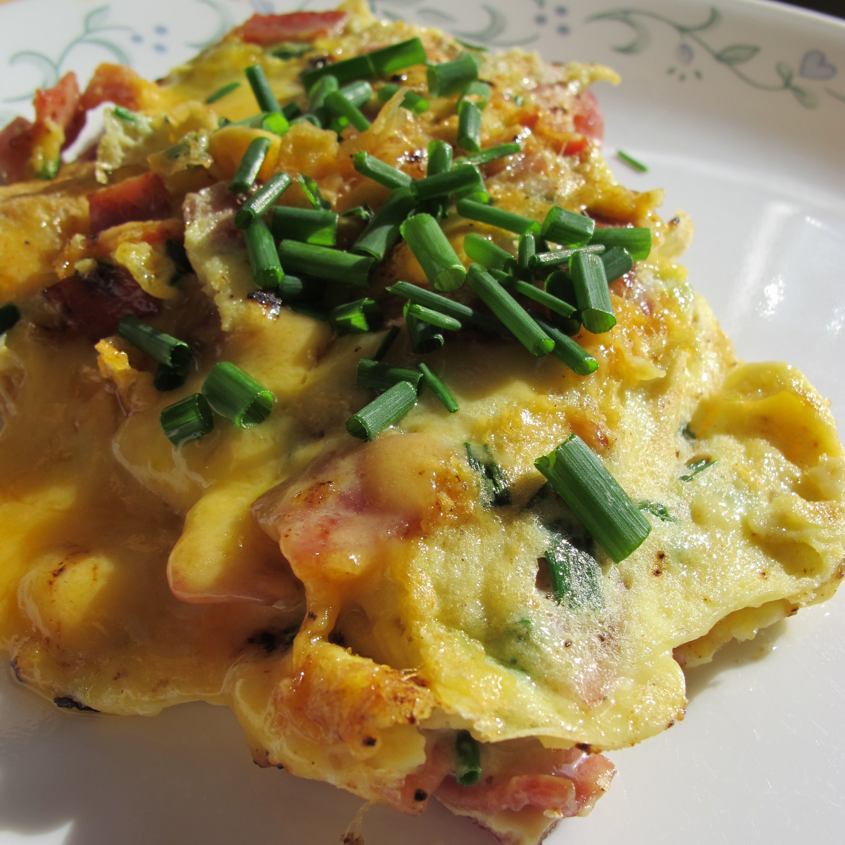 Ham and Cheese Omelette AllrecipesPhoto