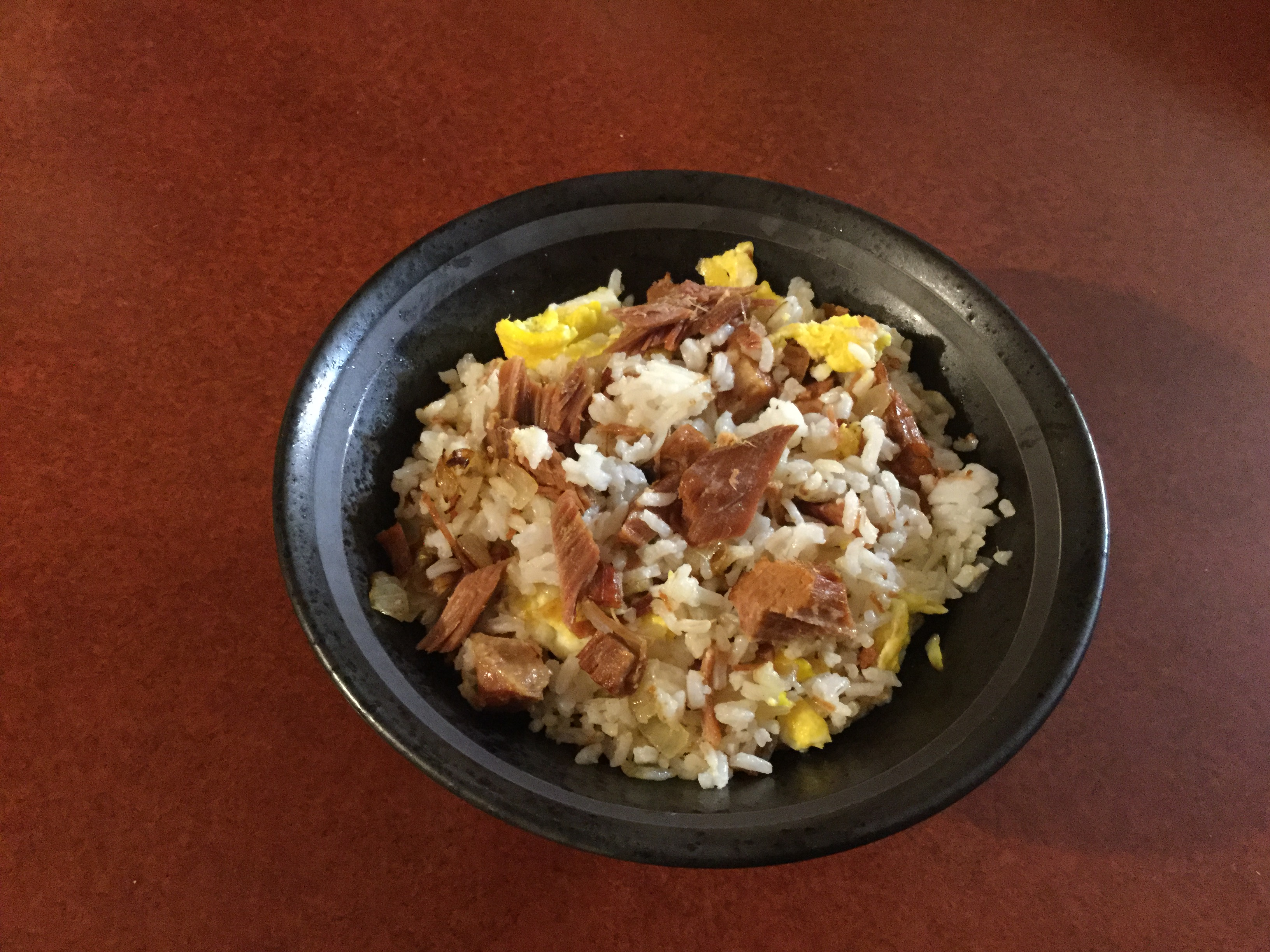 Fried Rice with Ham manella