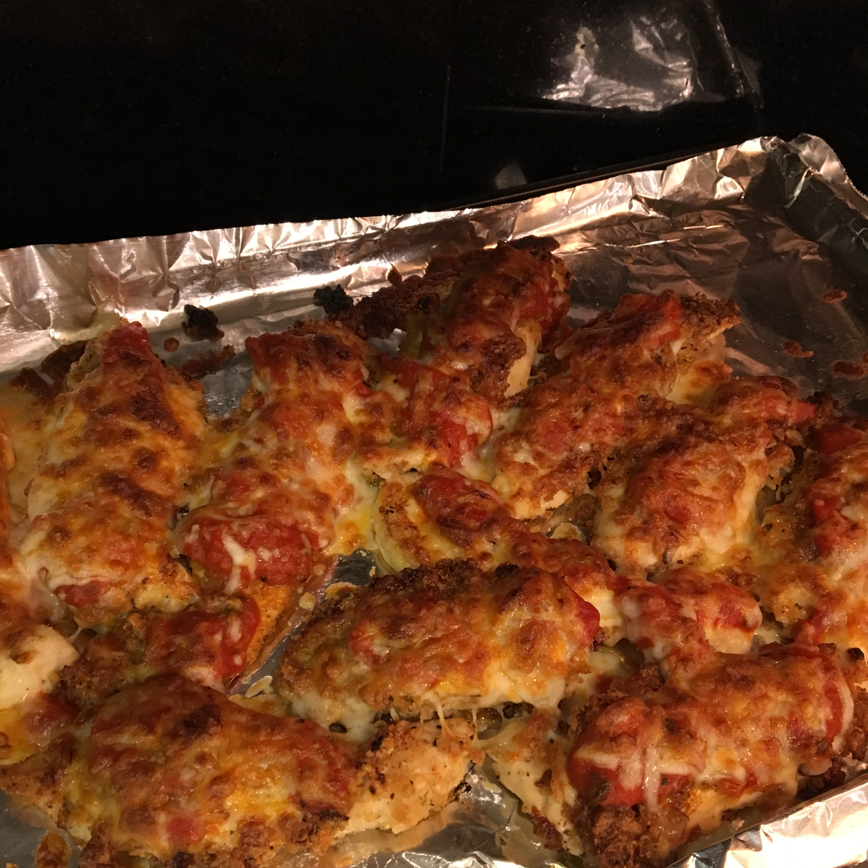 Keto Chicken Parmesan