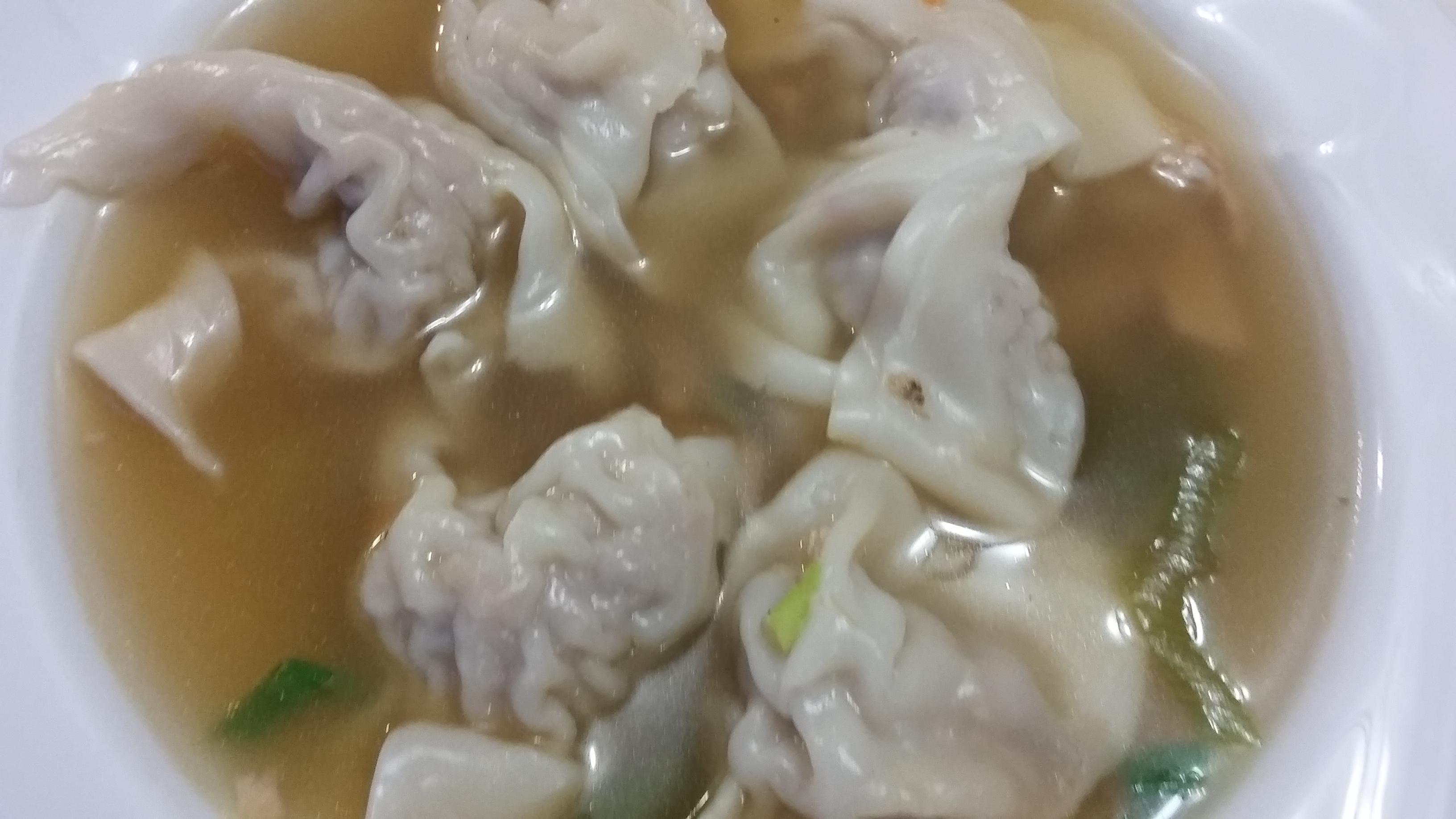 Authentic Wonton Soup the4taals