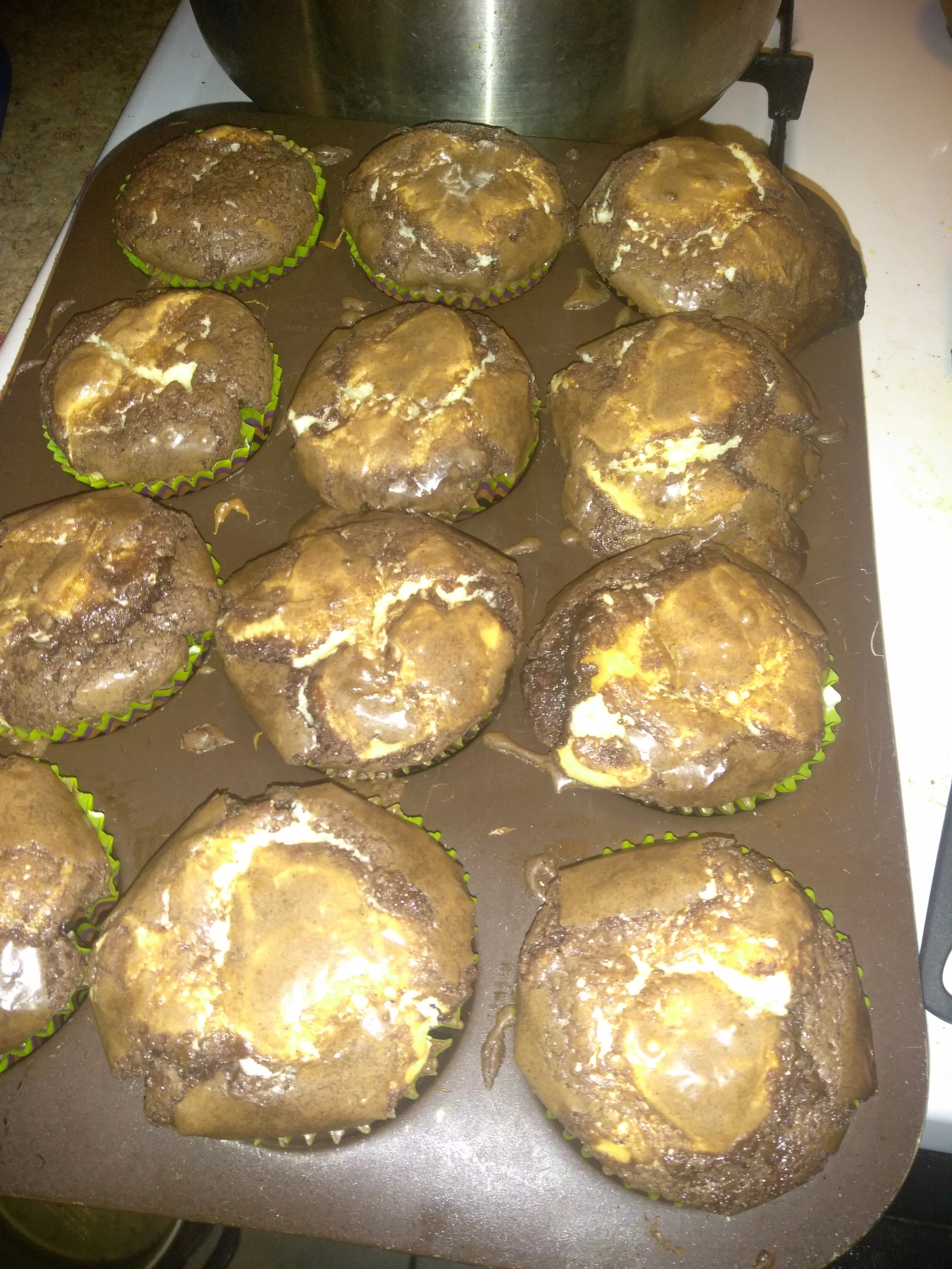 Brownie Cheesecake Cupcakes Nick Rodriguez