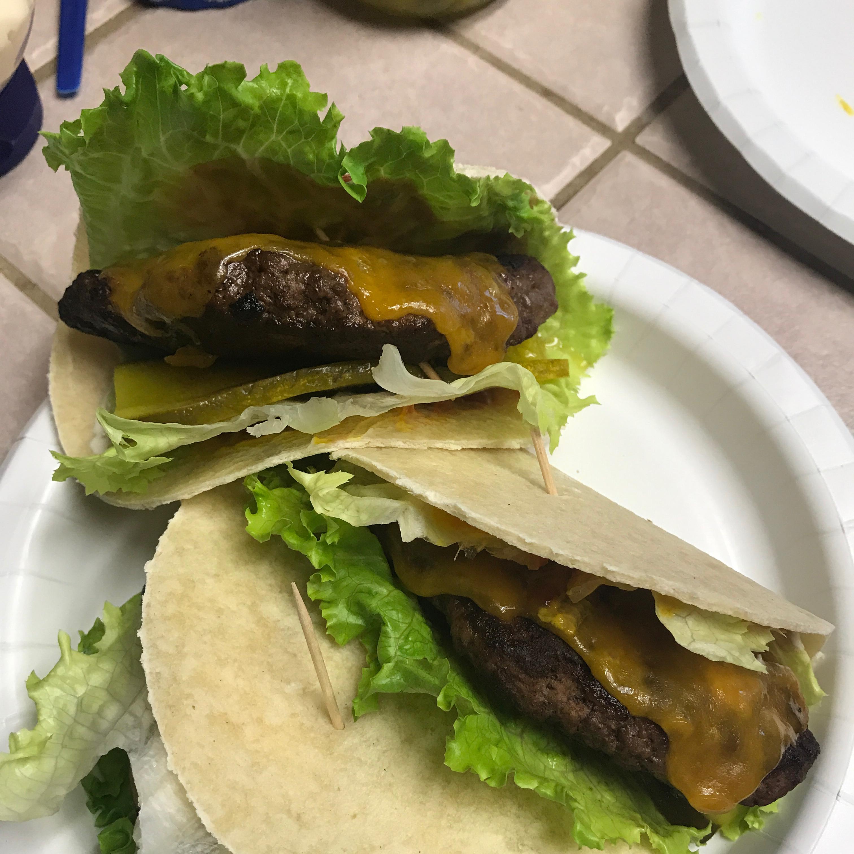 Cheeseburger Soft Tacos