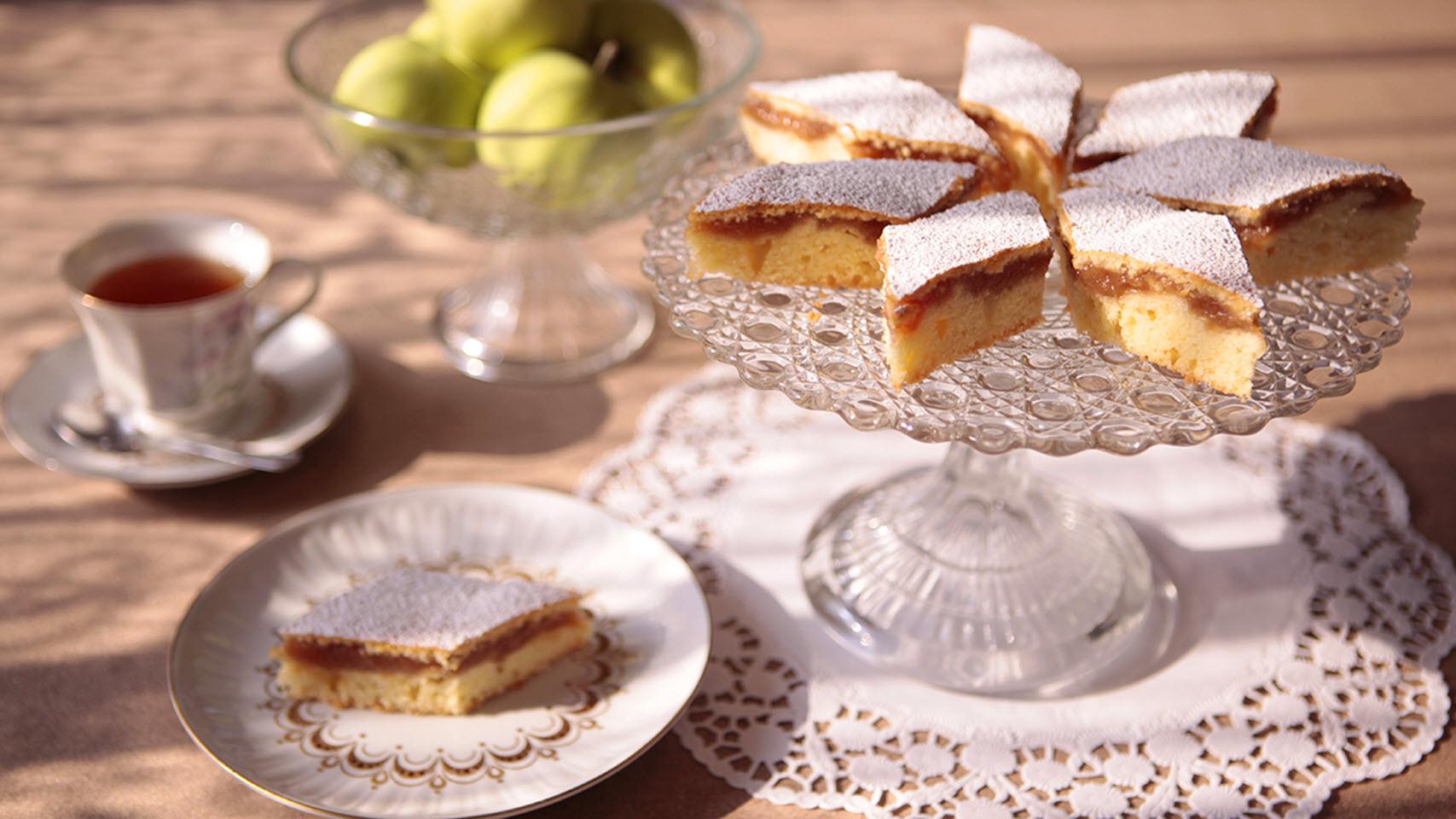 Polish Applesauce Cake