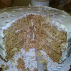 Carrot Cake with PHILLY Cream Cheese Icing fuzzycat30