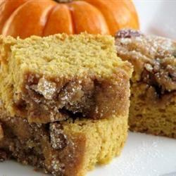 Pumpkin Coffee Cake mominml