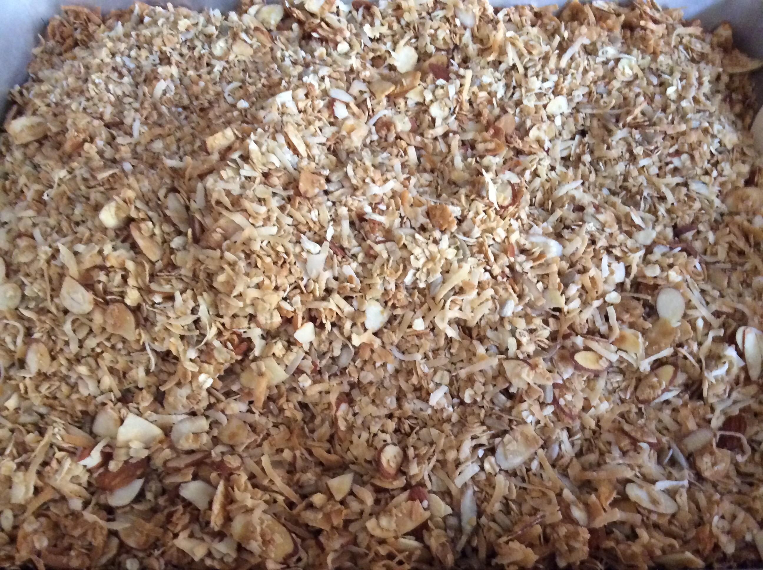Almond Maple Granola Diane Cullum