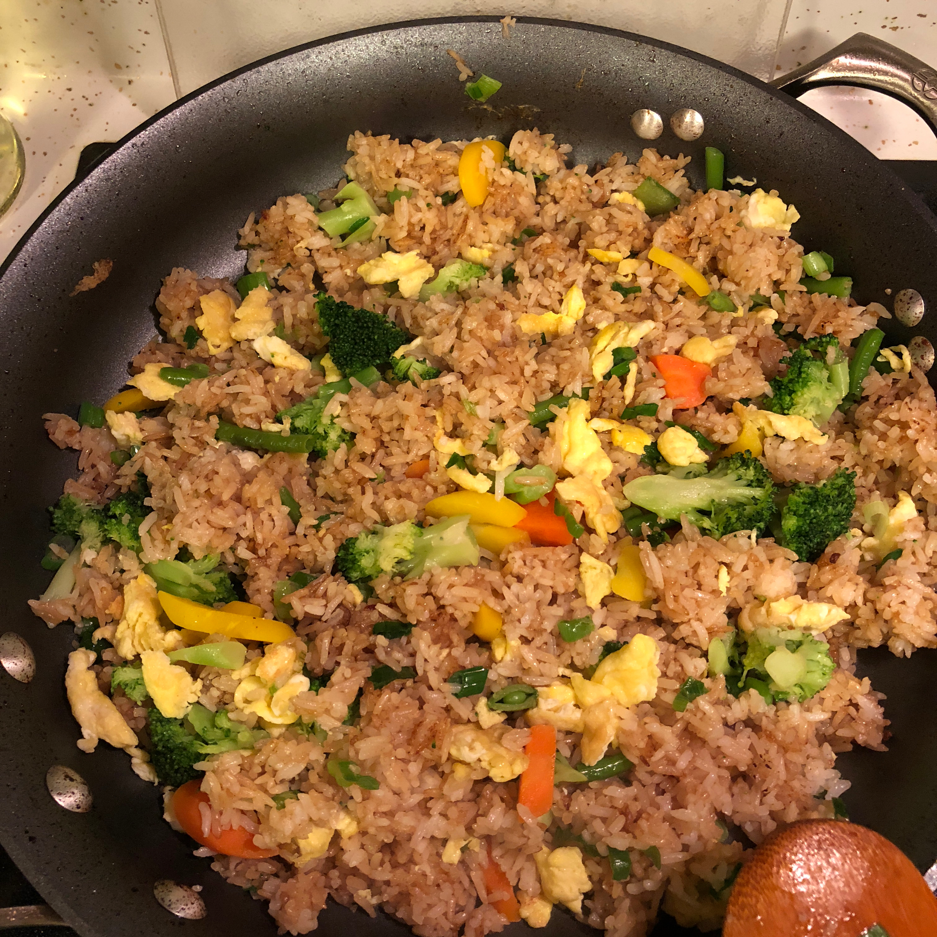 Vegetarian Fried Rice Ondrea Imbo