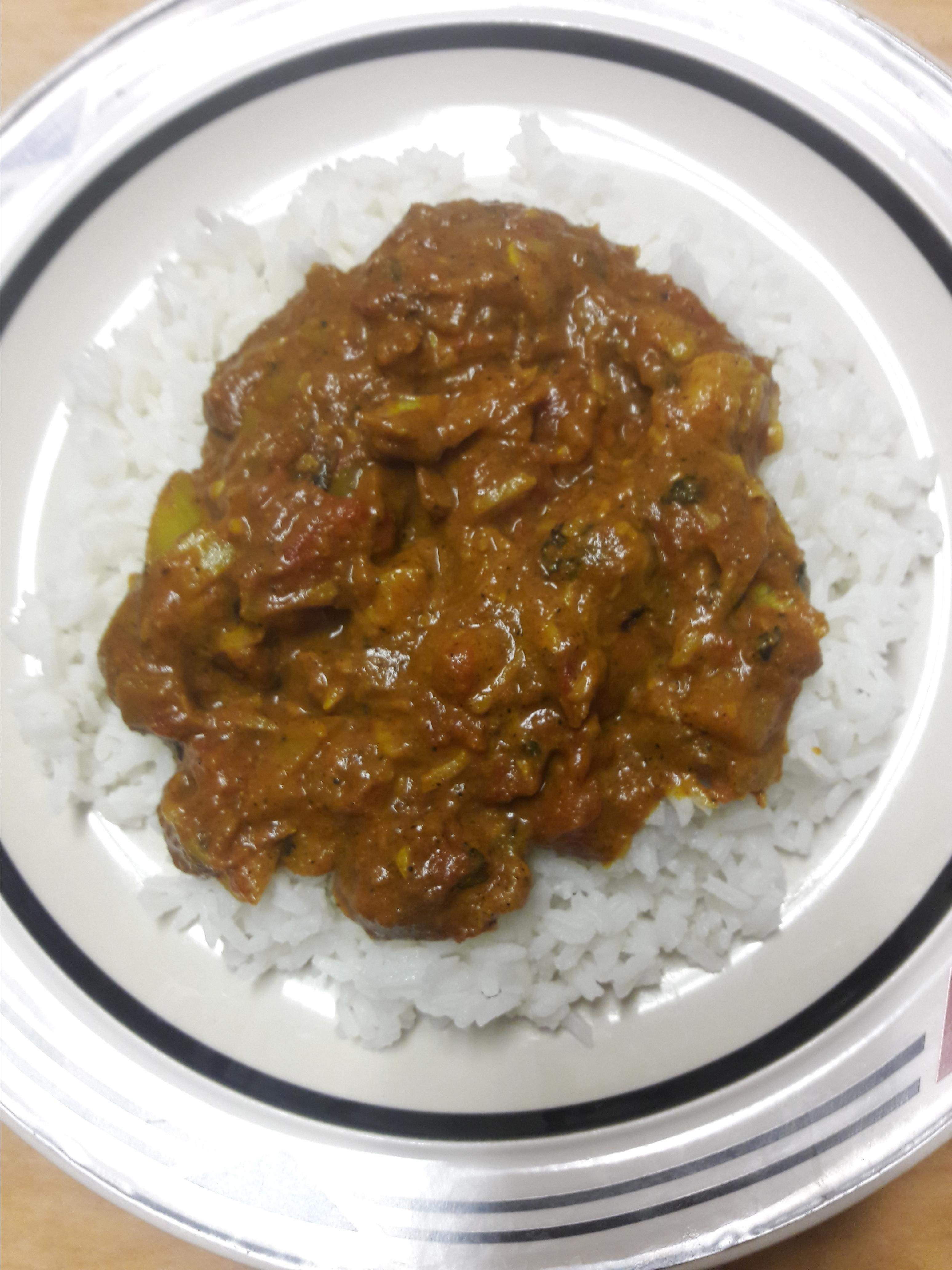 Spicy Banana Curry