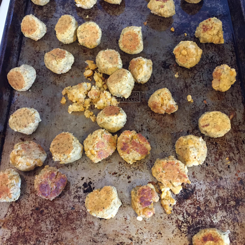 Chickpea Vegetarian Meatballs Meg