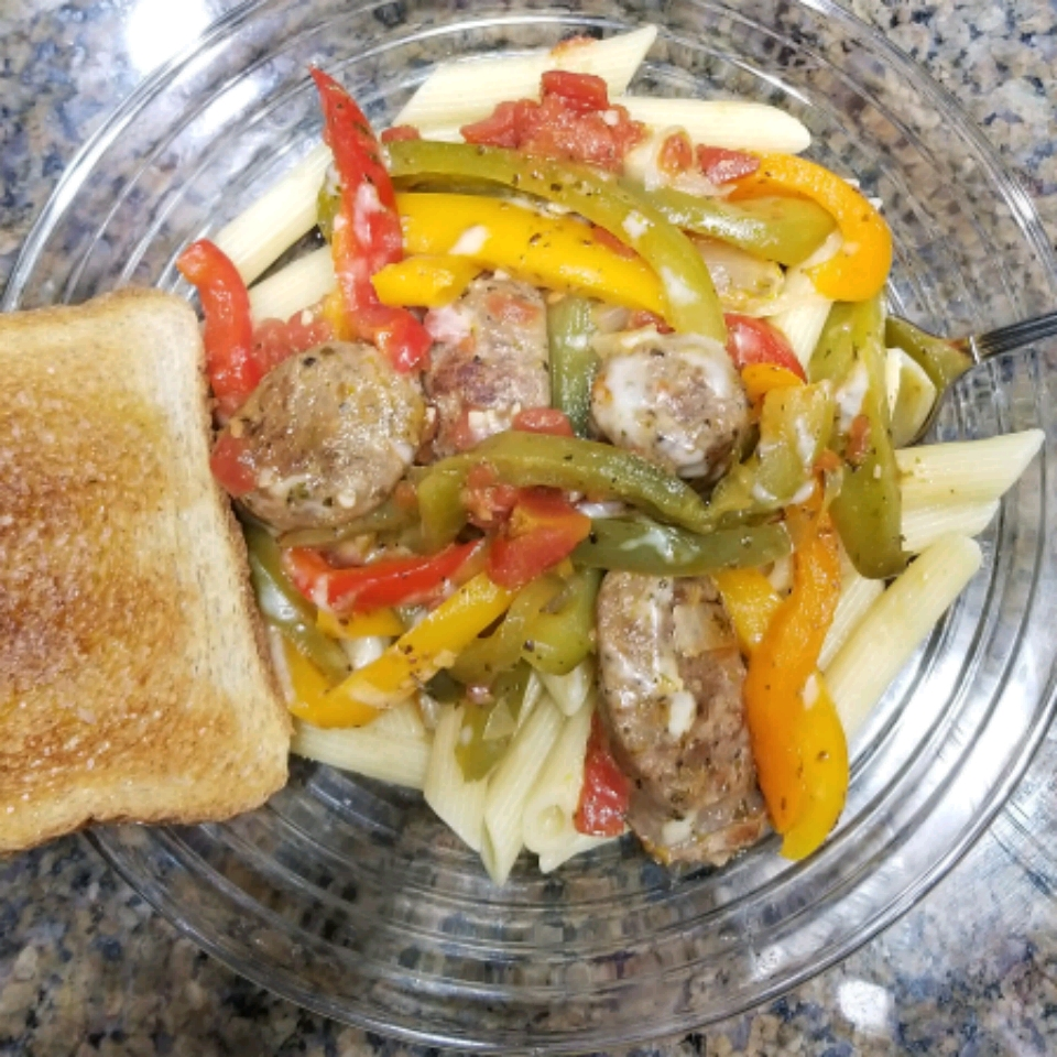 Daddy's Sausage and Peppers Lonnie Ballard