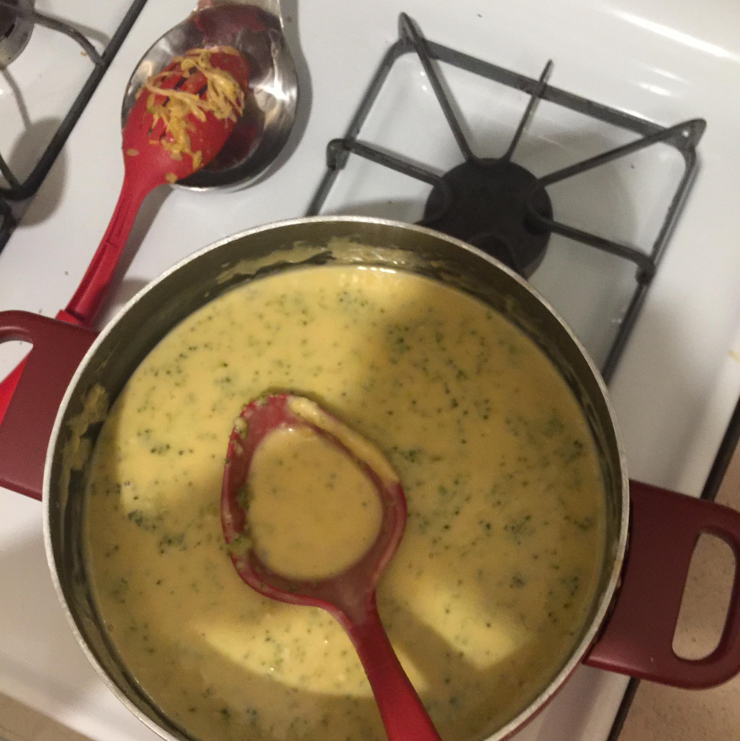 Broccoli Cheese Soup III
