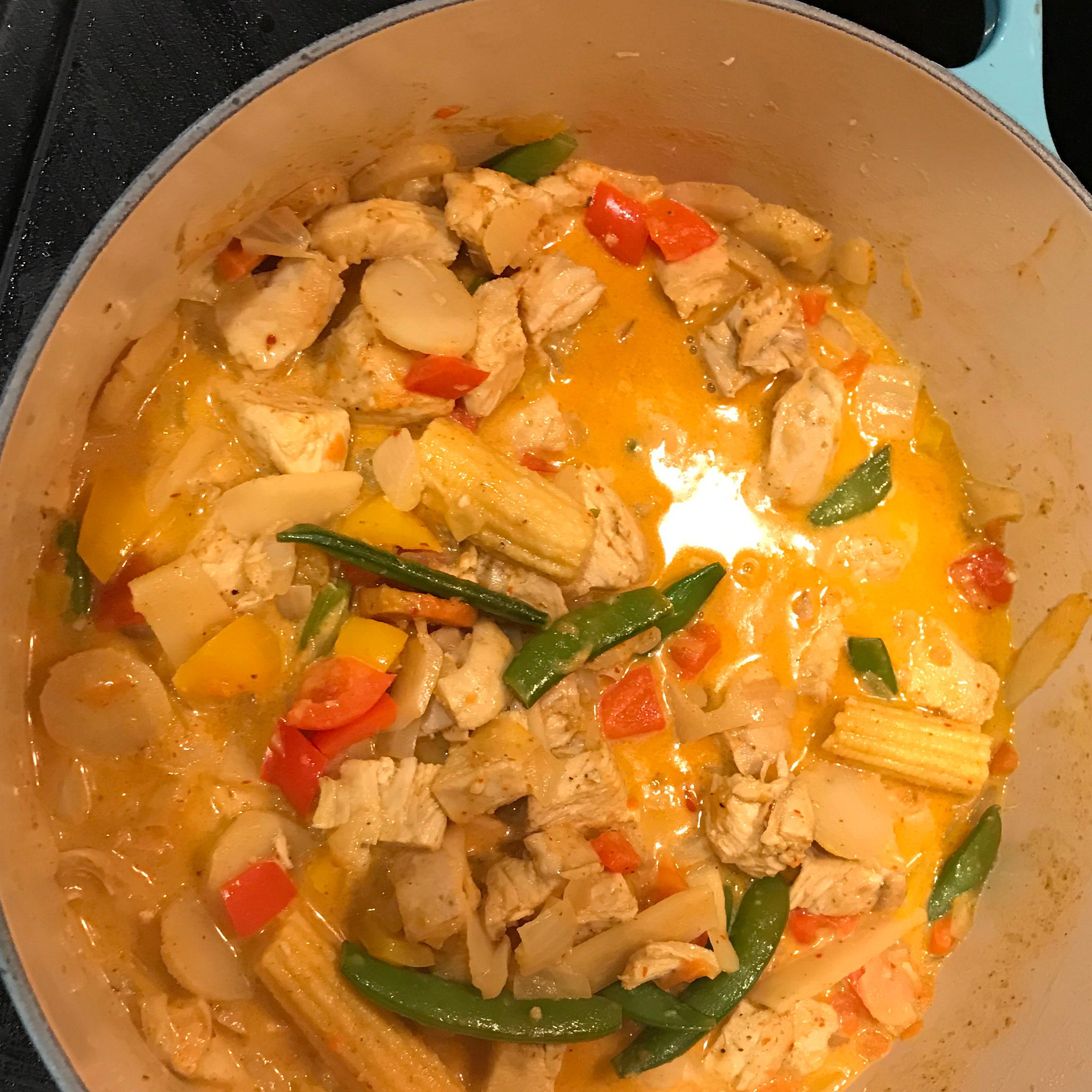 Maple-Curry Chicken Gina Gonzalez