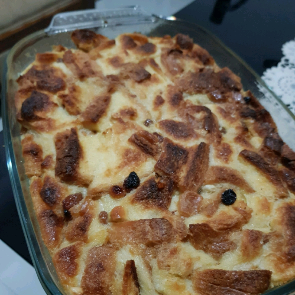 Bread Pudding with Lemon Sauce I