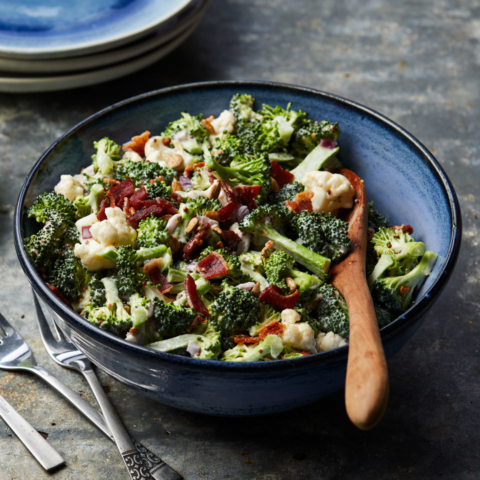 Broccoli Salad with Bacon Carolyn Casner
