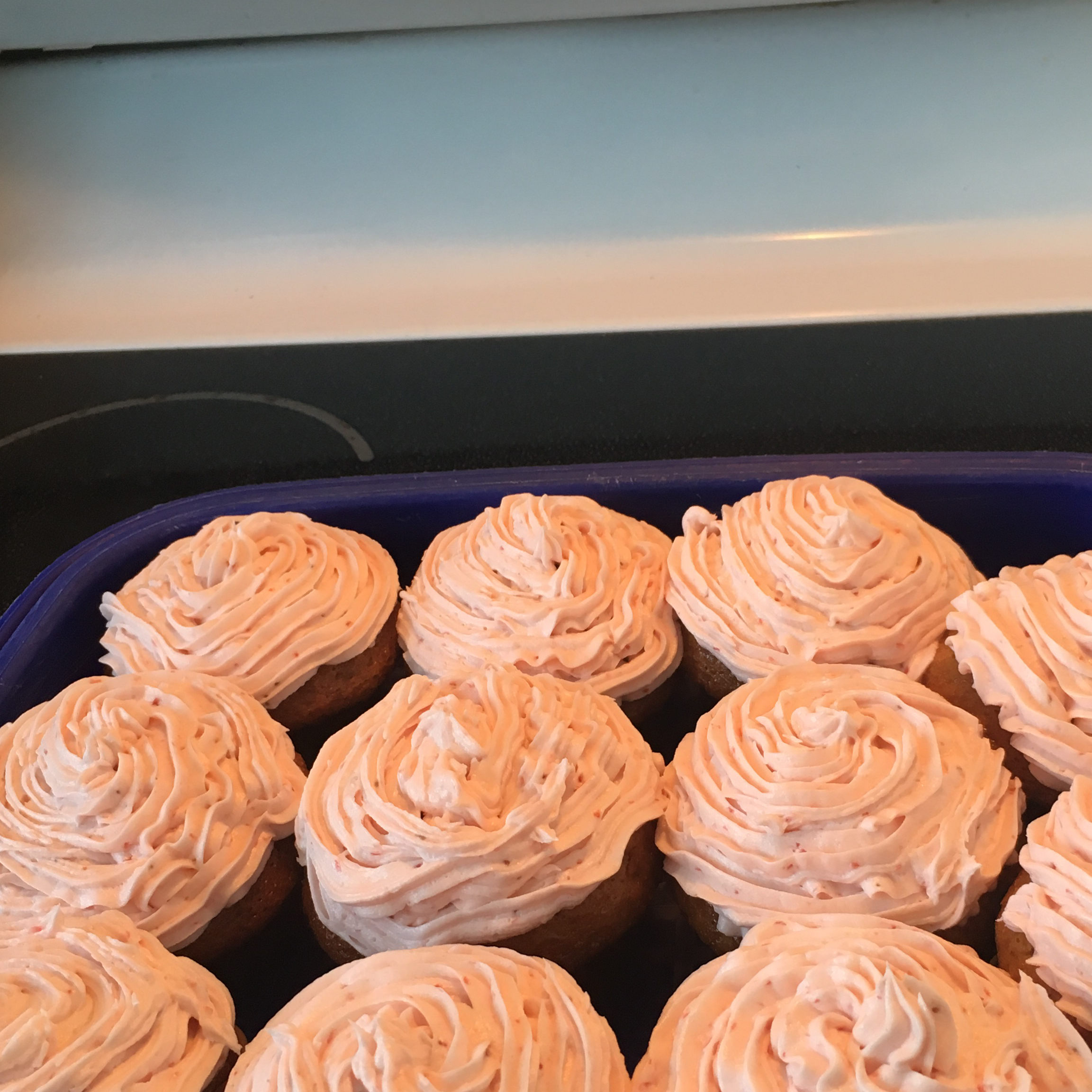 Light and Airy Strawberry Cupcakes Jody Jacobucci