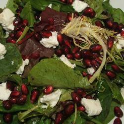 Pomegranate Feta Salad with Lemon Dijon Vinaigrette Dmseck